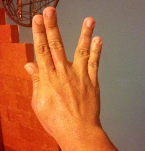 Vida longa e próspera, sem dermatite! // Live long and prosper, scab free!