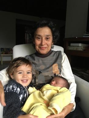 Mais de dois meses minha mãe ficou com a gente, uma doação de verdade, sou grata pra sempre!